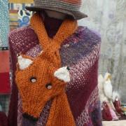 Textile: wool fox
